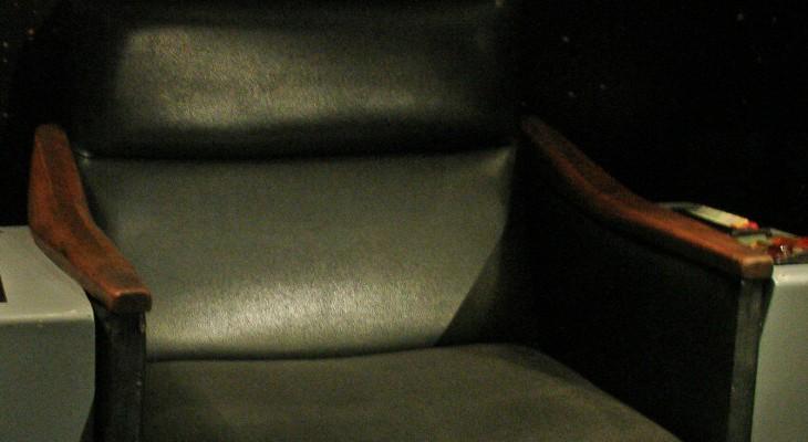 Kirk's chair.